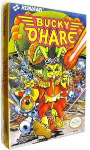 Nintendo Entertainment System NES Factory Sealed Cartridge Game Bucky O'Hare RARE!!!