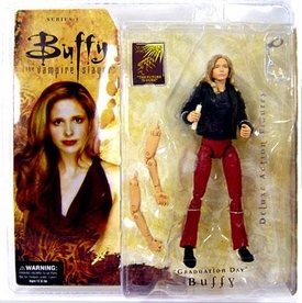Buffy the Vampire Slayer Series 1 Deluxe Action Figure Graduation Day Buffy