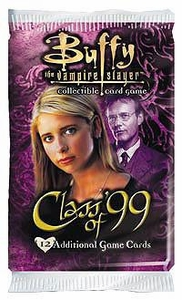 Buffy the Vampire Slayer Card Game Class of '99 Booster Pack BLOWOUT SALE!