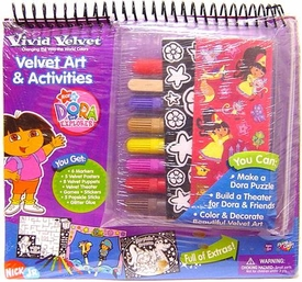 Dora the Explorer Activity Set Vivid Velvet Art & Activities