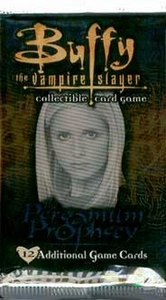 Buffy the Vampire Slayer Card Game The Pergamum Prophecy Booster Pack