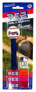 PEZ Dispenser & Candy Atlanta Braves