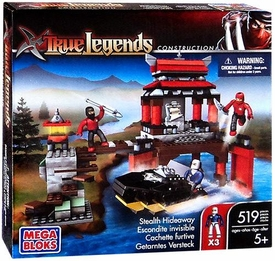 True Legends Mega Bloks Set Stealth Hideaway