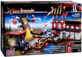 True Legends Mega Bloks Set Tower Trap Escape