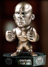 Round 5 UFC Titans Limited Edition All Silver Vinyl Hall of Fame Action Figure Randy Couture Only 100 Made!