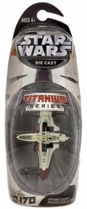 Star Wars Titanium Series EXCLUSIVE Diecast Mini ARC-170 [Red]