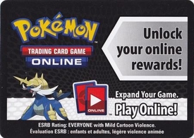 Pokemon Samurott Tin Promo Code Card for Pokemon TCG Online