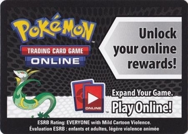 Pokemon Serperior Tin Promo Code Card for Pokemon TCG Online
