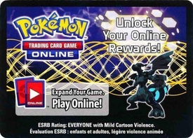 Pokemon Zekrom Tin Promo Code Card for Pokemon TCG Online