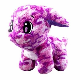 Neopets Collector Species Series 2 Plush with Keyquest Code Camouflage Poogle