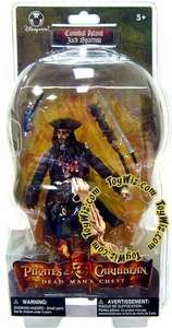 Pirates of the Caribbean Dead Man's Chest Exclusive Action Figure Cannibal Island Jack Sparrow