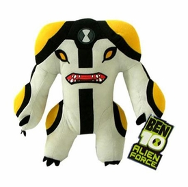 Ben 10 Alien Force 8 Inch Plush Figure Cannonbolt