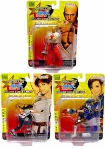 Japanese Import Capcom Vs. SNK Series 2 Set of 3 Figures