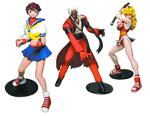 Japanese Import Capcom Vs. SNK Series 3 Set of 3 Figures
