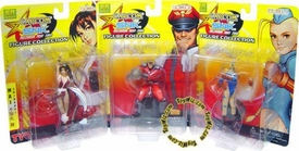 Japanese Import Capcom Vs. SNK Series 1 Set of 3 Figures