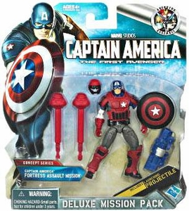 Captain America Movie Deluxe Mission Pack Captain America Fortress Assault Mission