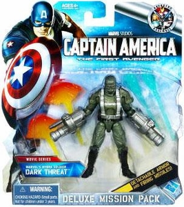 Captain America Movie Deluxe Mission Pack Dark Threat [Marvel Hydra Soldier]