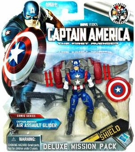 Captain America Movie Deluxe Mission Pack Captain America Air Assault Glider