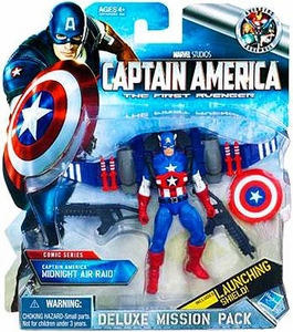 Captain America Movie Deluxe Mission Pack Captain America Midnight Air Raid