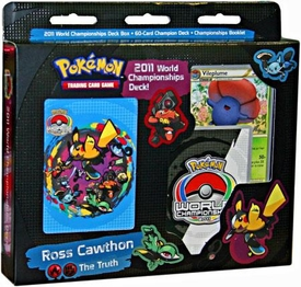 Pokemon 2011 World Championship Deck Ross Cawthon