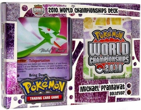 Pokemon 2010 World Championship Deck Michael Pramawat's