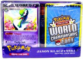 Pokemon 2008 World Championship Deck Jason K.'s Psychic Lock