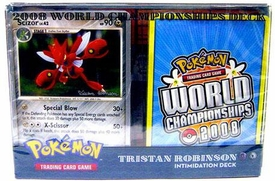 Pokemon 2008 World Championship Deck Tristian R's Toxicroak / Scizor Intimidation