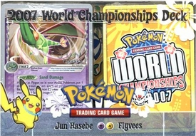 Pokemon 2007 World Championships Deck Jun Hasebe's Flyvees Deck
