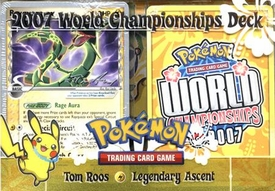 Pokemon 2007 World Championships Deck Tom Roos' Legendary Ascent Deck
