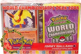 Pokemon EX 2006 World Championships Deck Jimmy Ballard's Eeveelution Deck
