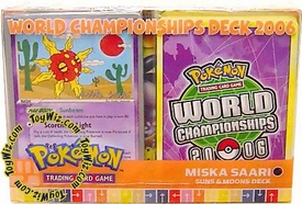 Pokemon EX 2006 World Championships Deck Miska Saara's Suns & Moons Deck
