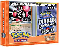 Pokemon 2005 World Championships Deck Curran Hill's Bright Aura Deck