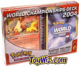 Pokemon 2004 World Championships Deck Chris Fulop's Blaziken Tech Deck