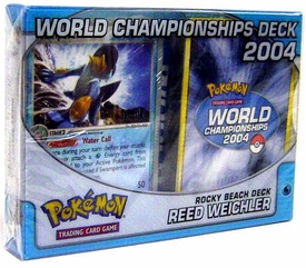Pokemon 2004 World Championships Deck Reed Weichler's Rocky Beach Deck