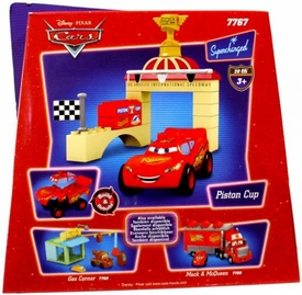 Disney Pixar Cars Movie Mega Bloks Set #7767 Piston Cup