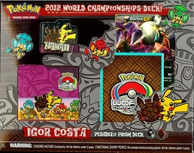 Pokemon 2012 World Championship Igor Costa Pesadelo Prism Deck