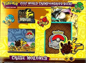 Pokemon 2012 World Championship Chase Moloney Eeltwo Deck