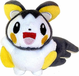 Pokemon ShoPro 3 Inch Mini Plush Keychain Emolga