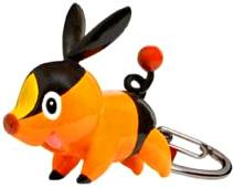 Pokemon Black & White Series 23 Keychain Tepig BLOWOUT SALE!