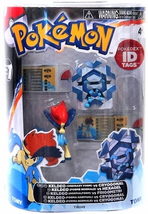 Pokemon TOMY Basic Figure 2-Pack Keldeo & Cryogonal