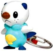 Pokemon Black & White Series 23 Keychain Oshawott