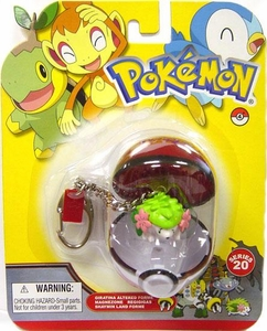 Pokemon Diamond & Pearl Series 20 Keychain Shaymin [Land Forme]