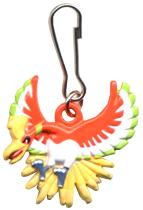 Pokemon Metal Keychain Mini Dangler Ho-Oh