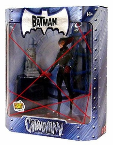 The Batman 2005 San Diego Comic Con Exclusive Action Figure Catwoman Granite Statue Variant