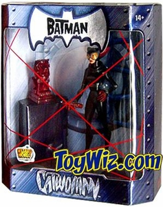 The Batman 2005 San Diego Comic Con Exclusive Action Figure Catwoman Ruby Statue Variant