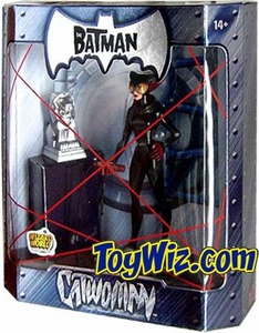 The Batman 2005 San Diego Comic Con Exclusive Action Figure Catwoman Silver Statue Variant