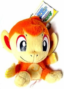 Pokemon ShoPro 3 Inch Mini Plush Keychain Chimchar