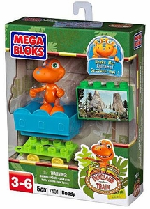 Dinosaur Train Mega Bloks Set #7401 Buddy