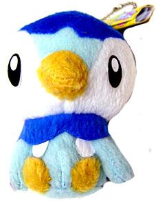 Pokemon ShoPro 3 Inch Mini Plush Keychain Piplup