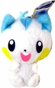 Pokemon ShoPro 3 Inch Mini Plush Keychain Pachirisu
